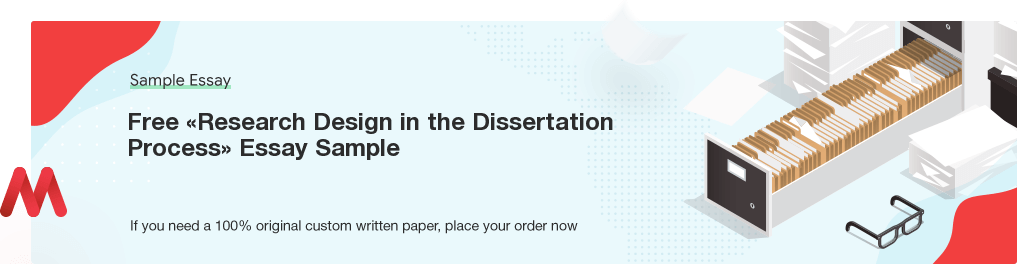 Custom «Research Design in the Dissertation Process» Essay Paper
